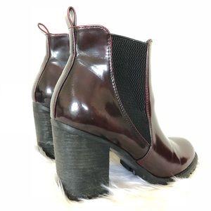 Burgundy Steve Madden Boot